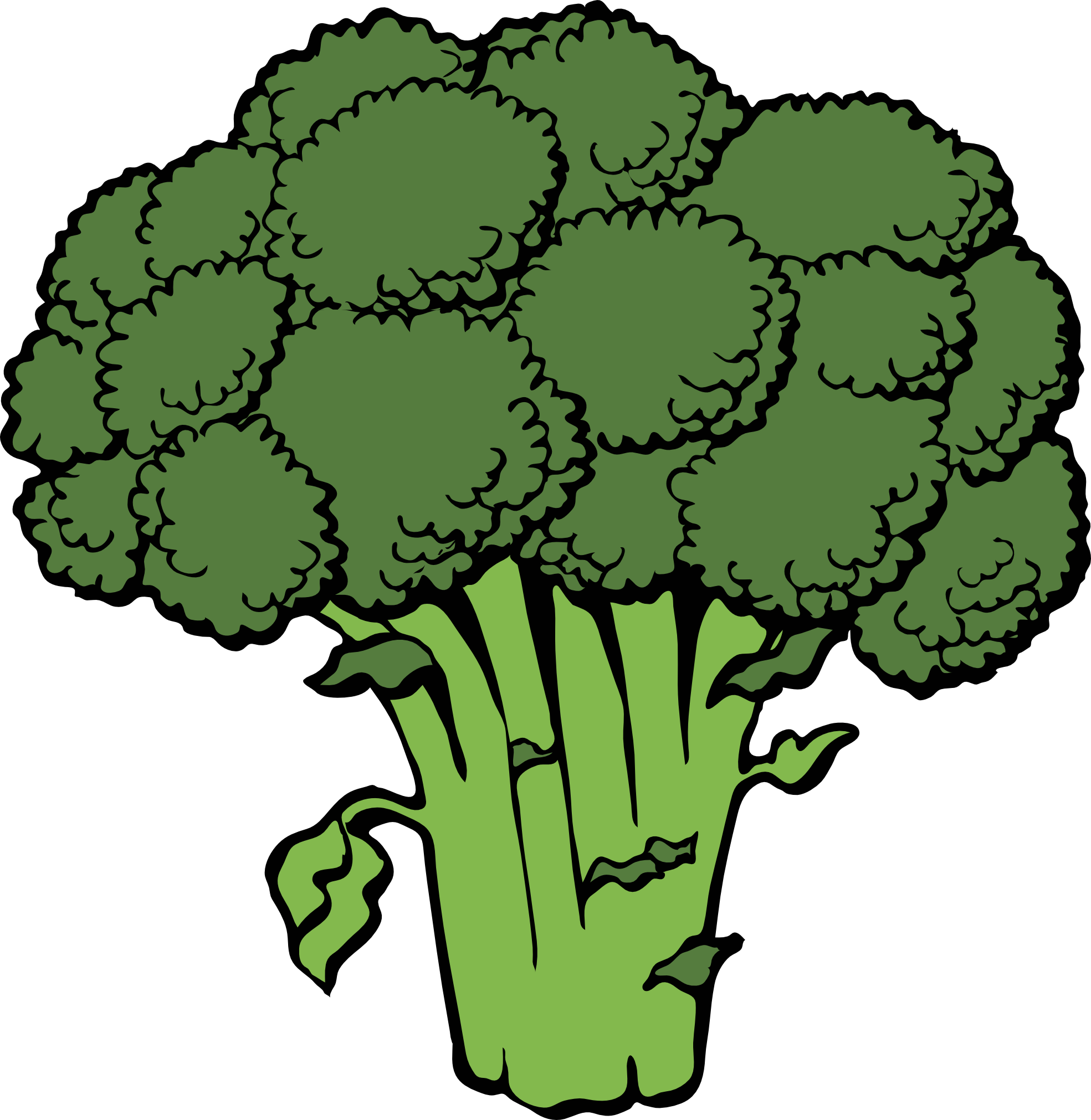 Broccoli clipart black and white. Line panda free images
