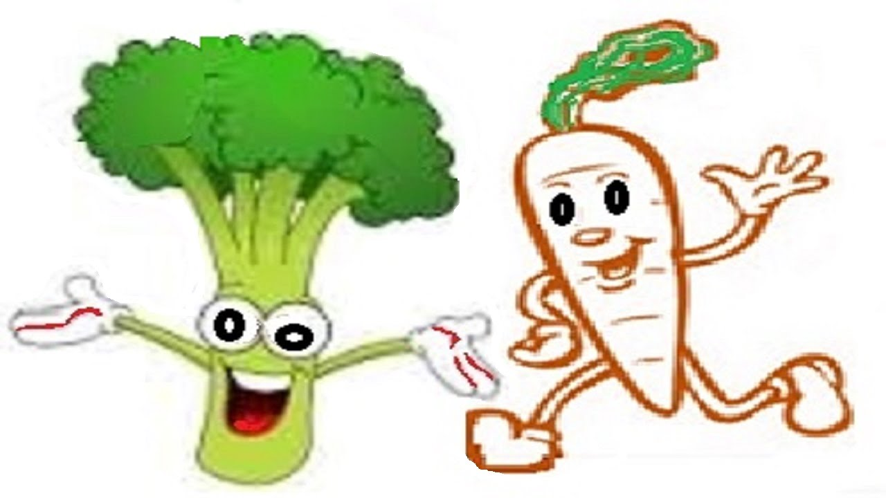 Carrot clipart broccoli. And conversation is good
