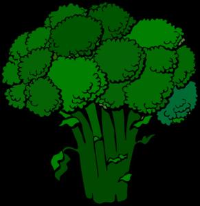 Dark clip art at. Celery clipart broccoli