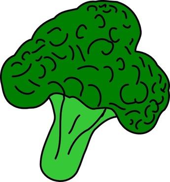 Celery clipart broccoli. Illustration free vector download
