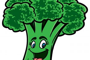 Bad putzen station related. Broccoli clipart face
