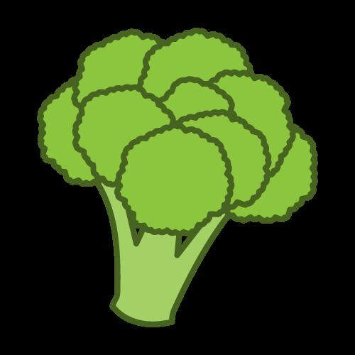 Broccoli clipart face. Clip art free vector