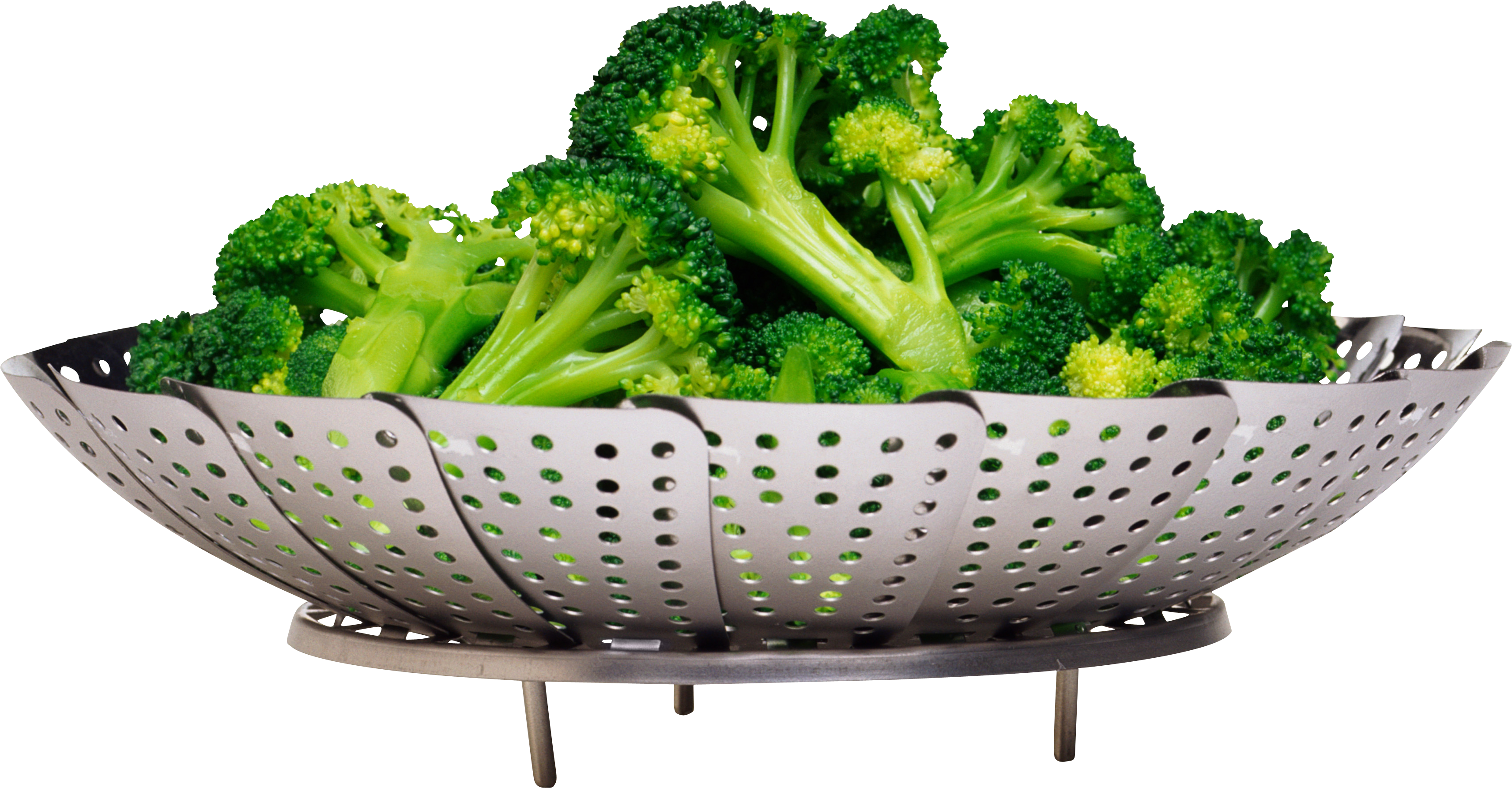 Ten isolated stock photo. Broccoli clipart high resolution
