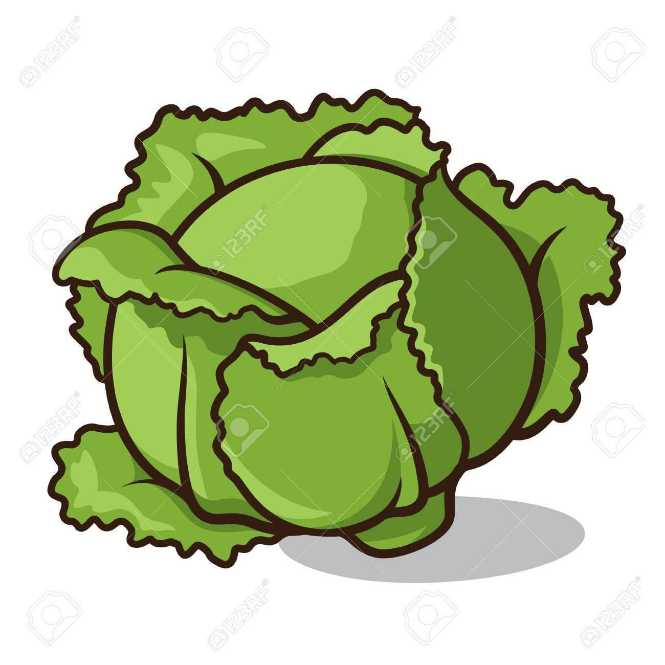 Broccoli clipart lettuce. Drawn redhead haired cartoon