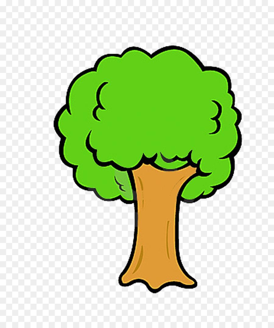Tree drawing clip art. Broccoli clipart sketch