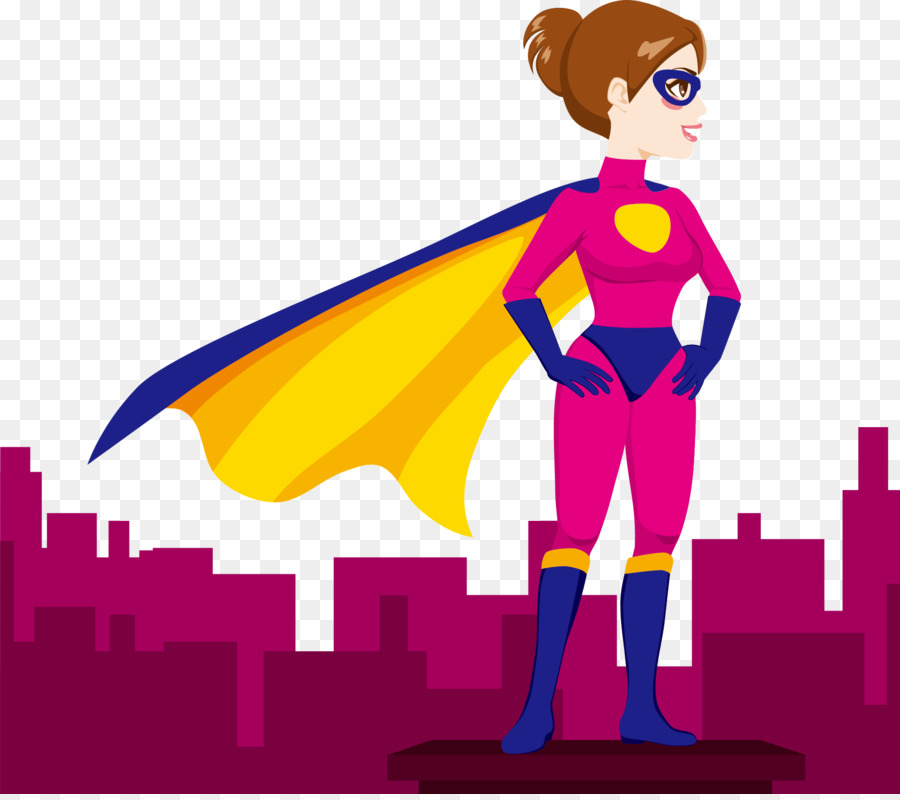 Superwoman female clip art. Carrots clipart superhero