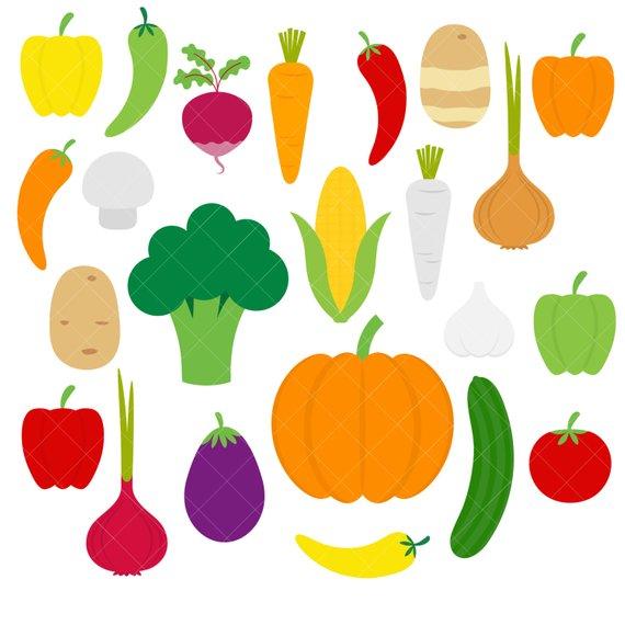 Vegetables veggies onion potato. Carrot clipart broccoli