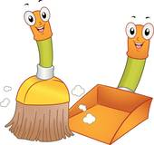 Broom clipart. Clip art royalty free