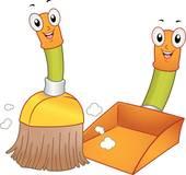 Broom clipart. Clip art royalty free