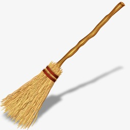 Broom clipart broomstick. Sweep the floor clean