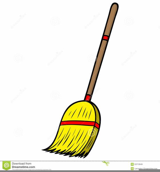 Broom clipart broomstick. Cartoon brooms free images