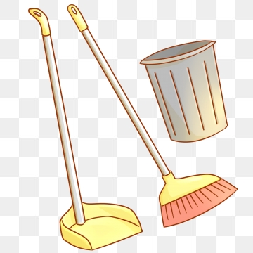 Housekeeping clipart broom. Cleaning images png format