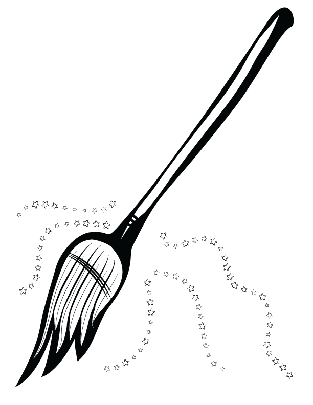 In png and svg. Witch clipart broom clip art