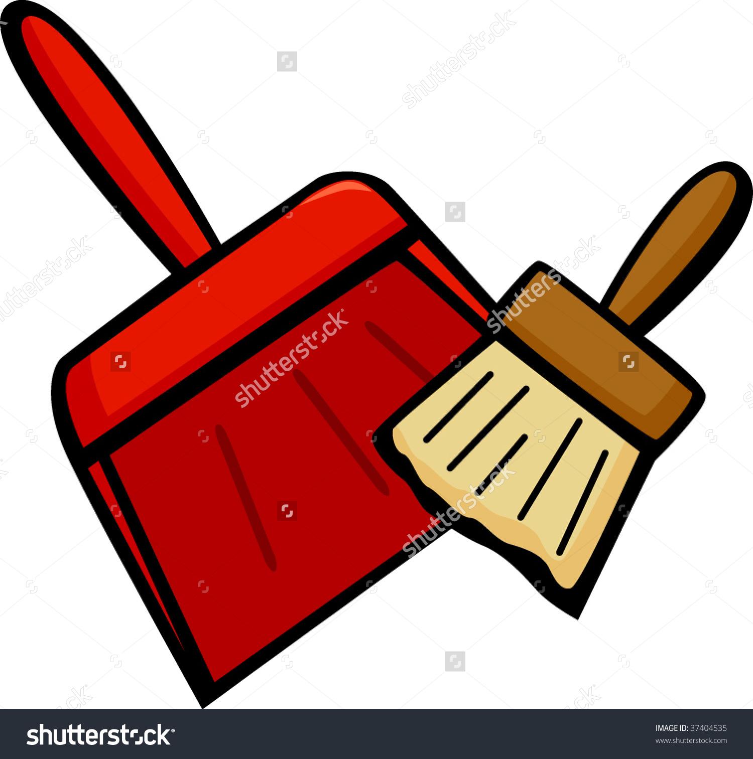 Comfortable dust hdx lobby. Brush clipart pan