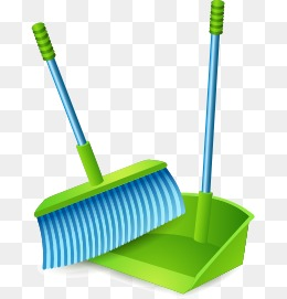 Png images vectors and. Broom clipart dustpan