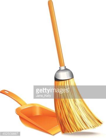 And stock vectors me. Broom clipart dustpan