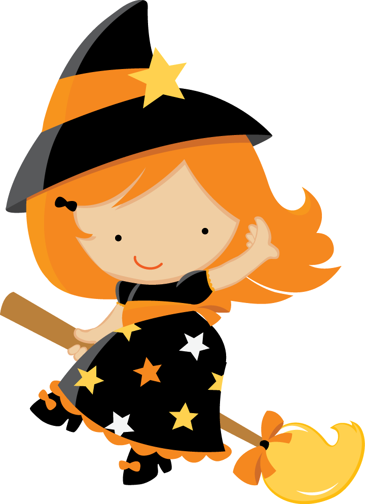 Clown clipart scary witch. Halloween baby clip art