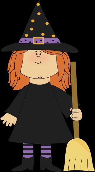 Broom clipart kid. Halloween clip art images