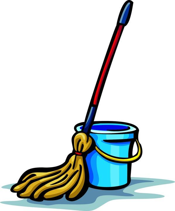And . Bucket clipart mop bucket
