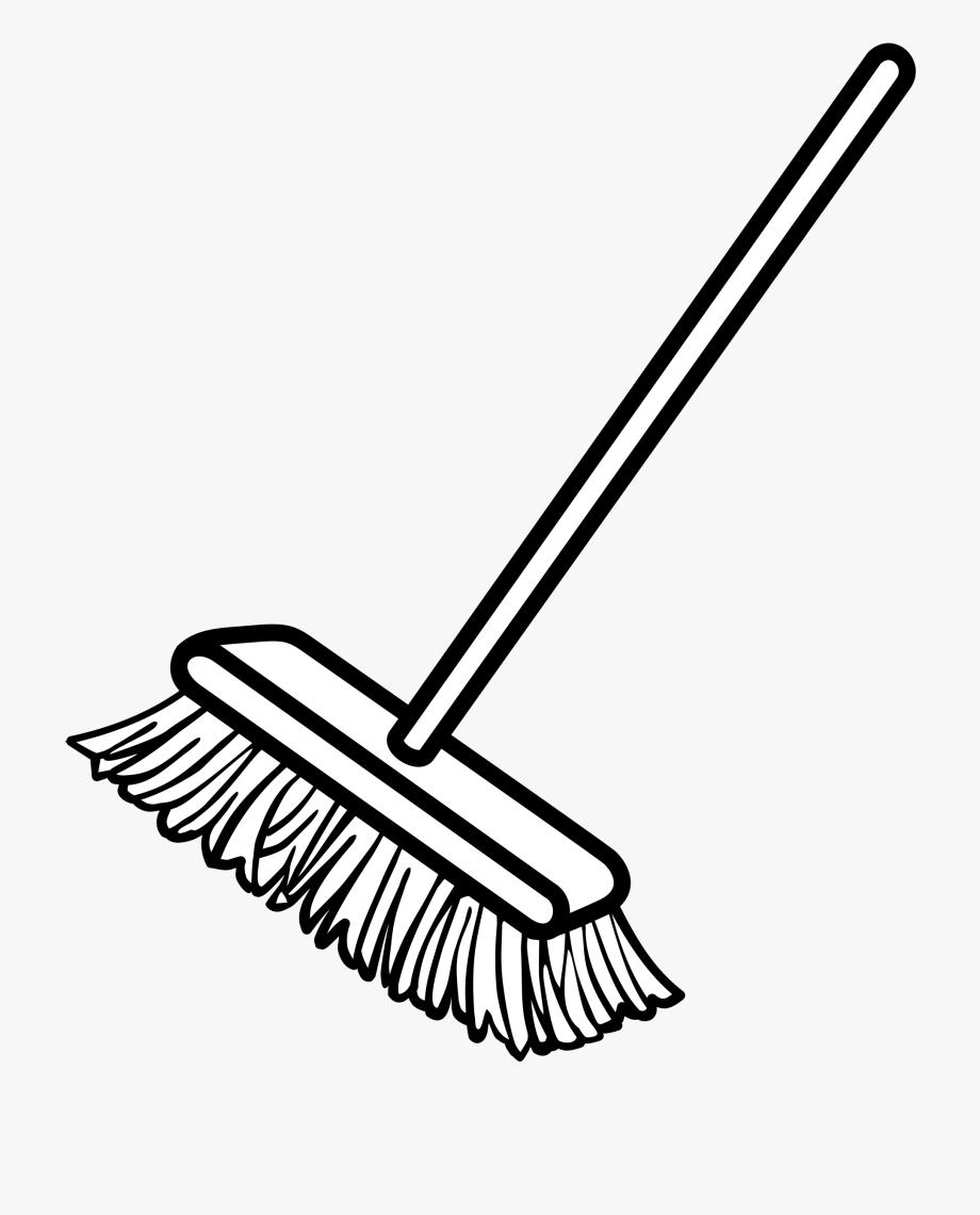 Tumundografico clip art free. Broom clipart sweeping brush