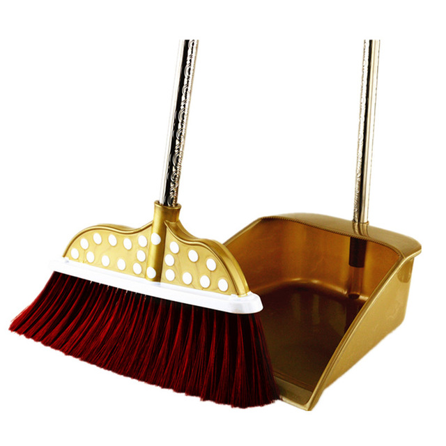 Spin dustpan magic sweeper. Broom clipart sweeping brush