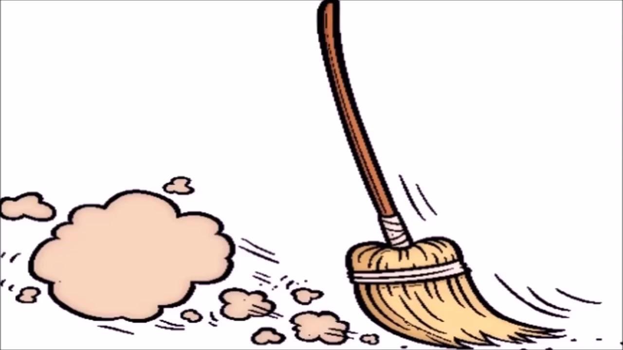 Broom clipart sweeping brush. Floor sound effect hour