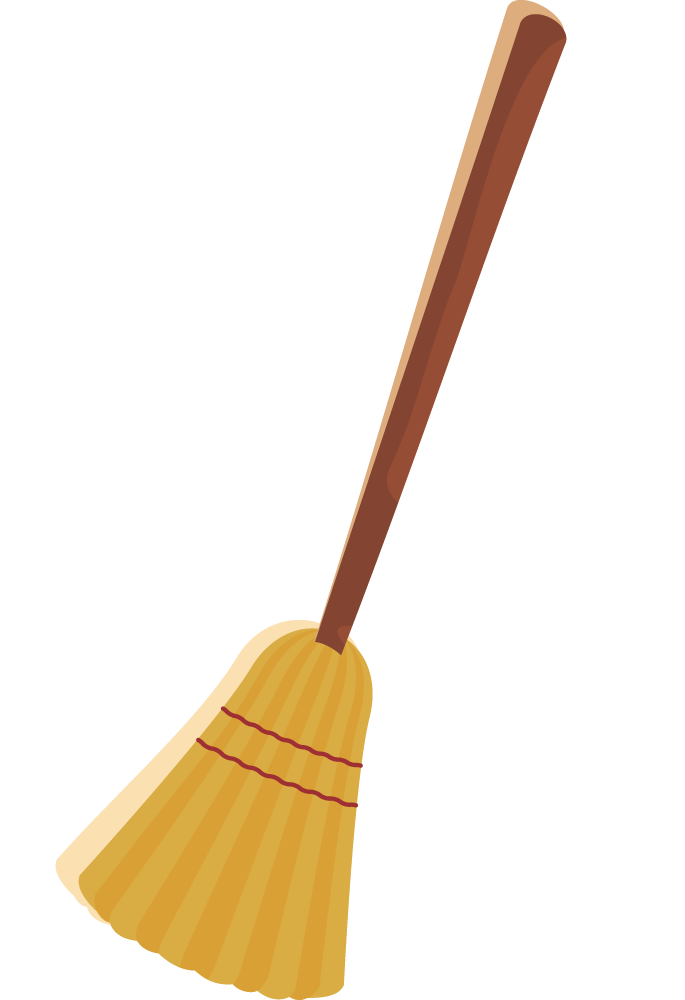 Broom transparent png pictures. Witch clipart stick