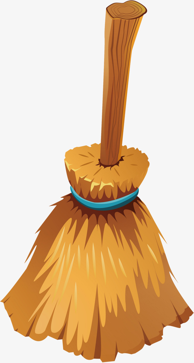 Broom clipart vector. Witch on png images