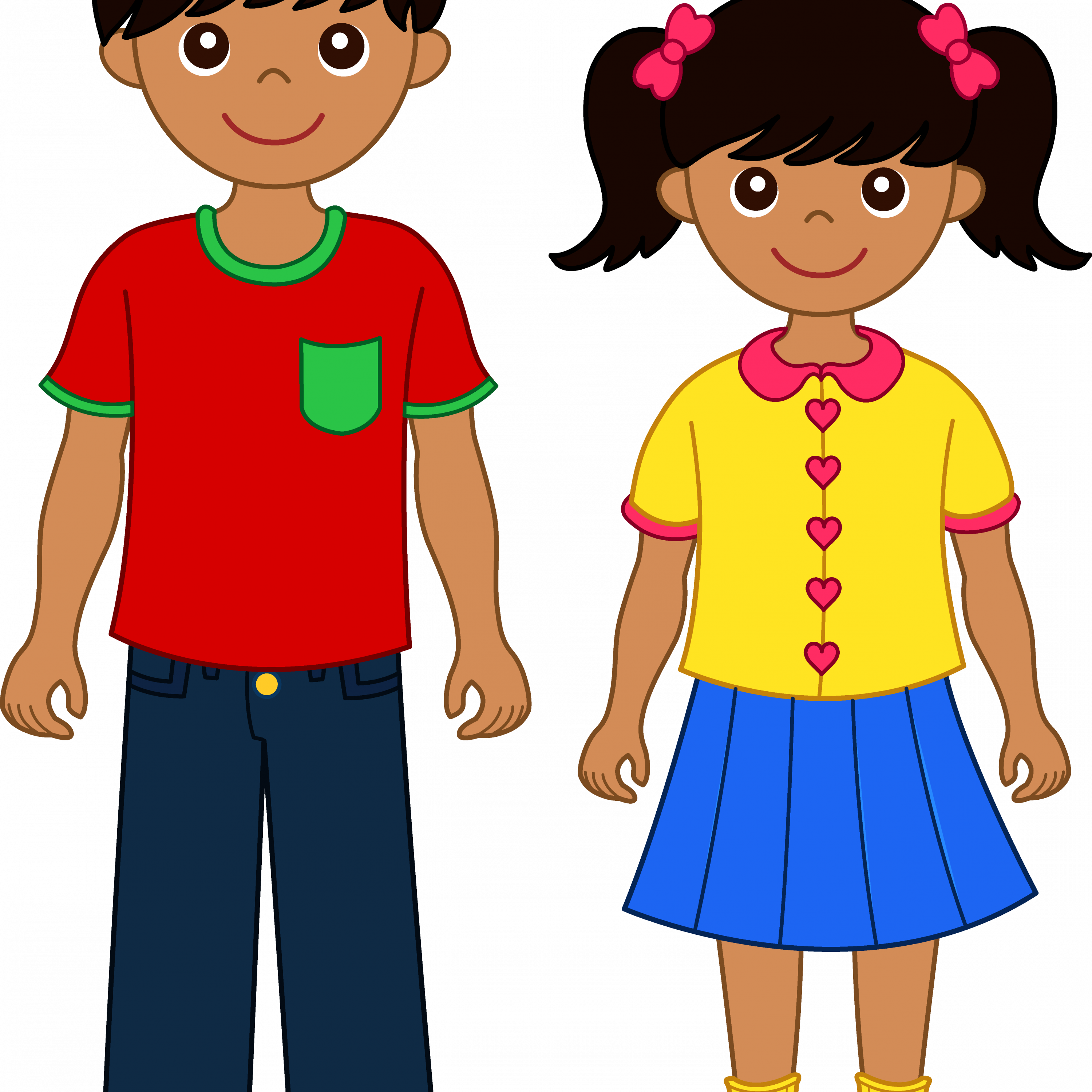 Brother clipart. Sister free download best