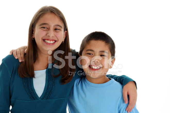 Sister and relationship stock. Brother clipart adolescent