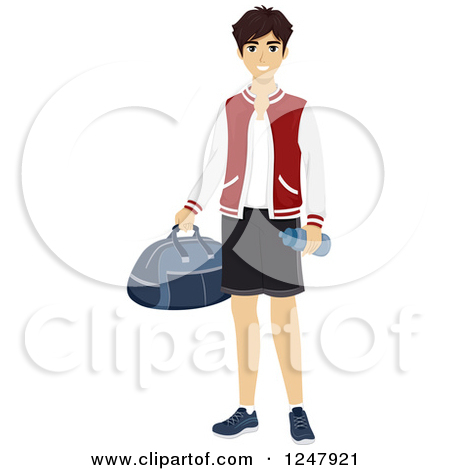 Jock clipground preview. Brother clipart adolescent