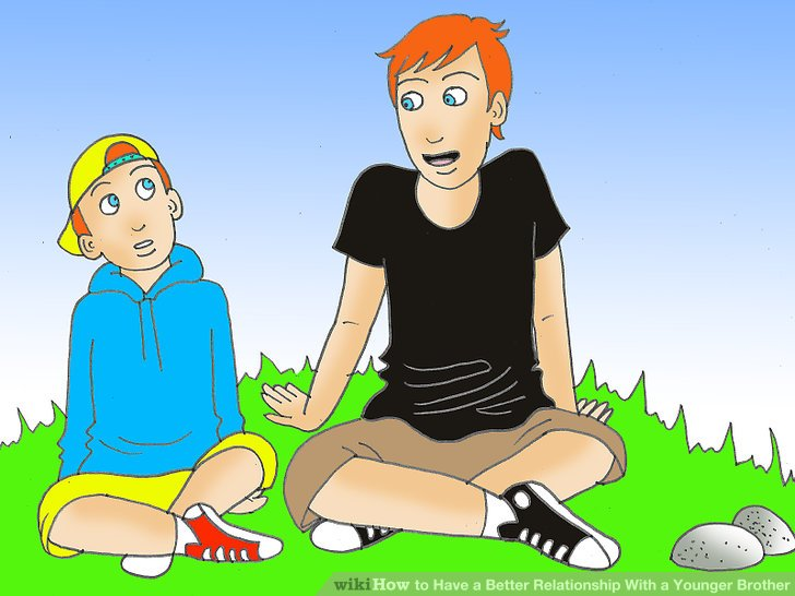 brothers clipart adolescent