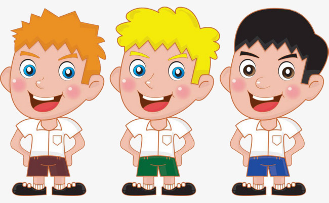 Three brothers cartoon png. Brother clipart animated