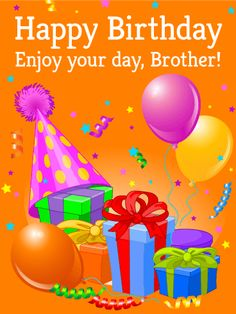 Brothers clipart birthday. Have a terrific day