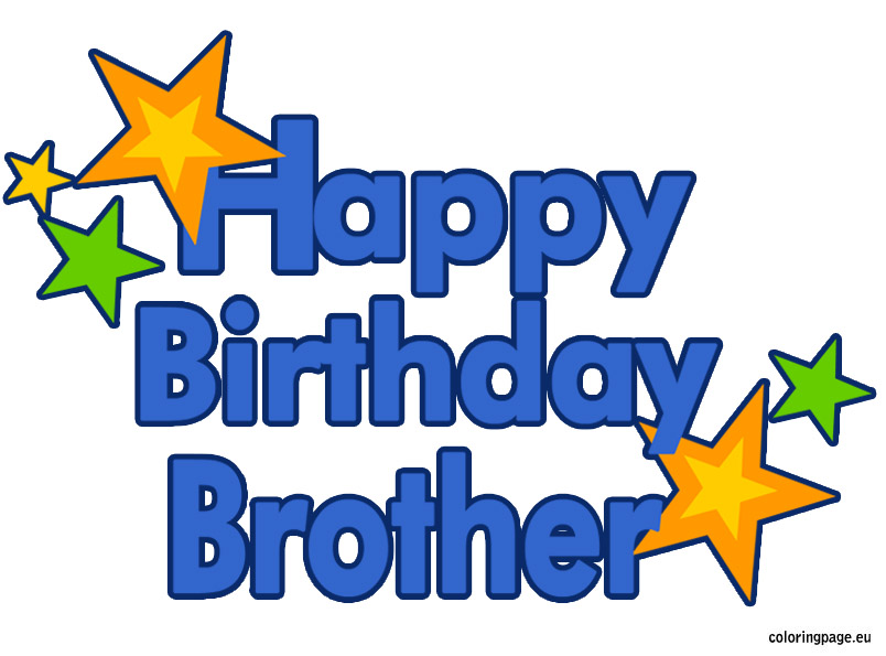 Brothers clipart birthday.  collection of happy