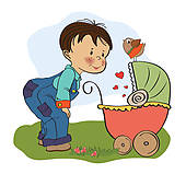 Brothers clipart. Clip art royalty free