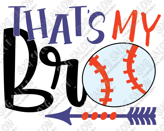 That s my baseball. Brother clipart bro