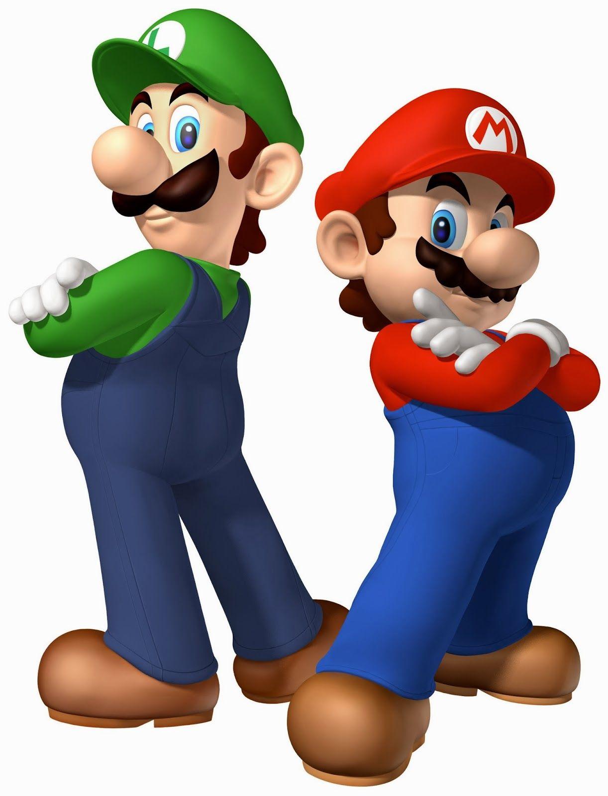 Mario e luigi kade. Brother clipart bro