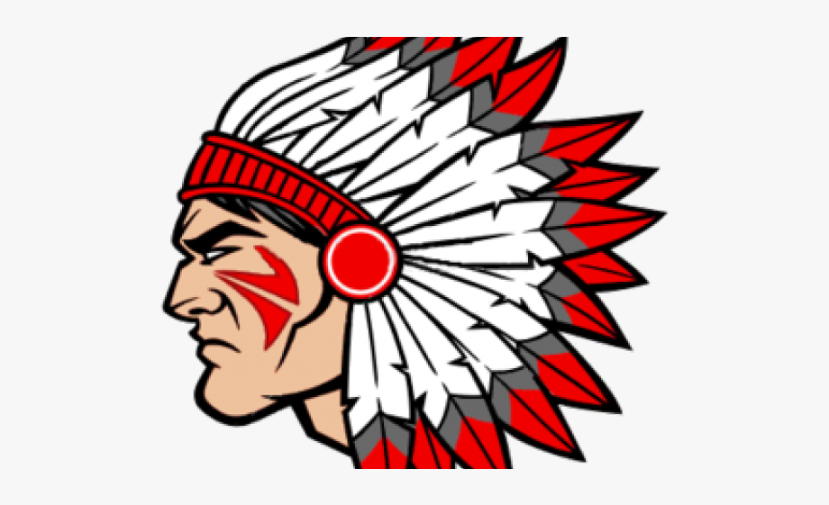 Indians indian brother rice. Warrior clipart warrior head