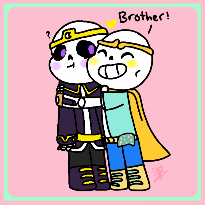 By noobienoob on deviantart. Brothers clipart brotherly love