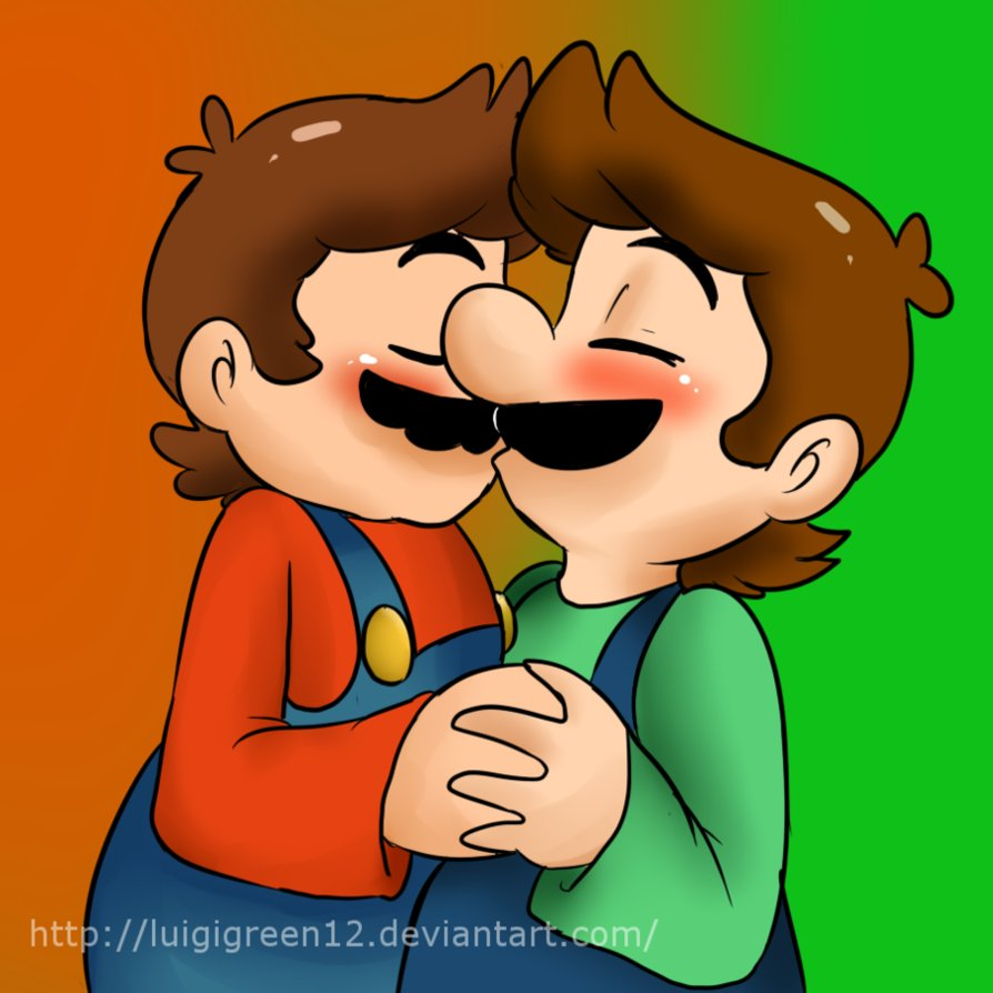 Brothers clipart brotherly love. By mariobrosyaoifan on deviantart