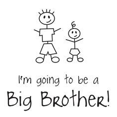 Brother clipart coloring. Big award page http