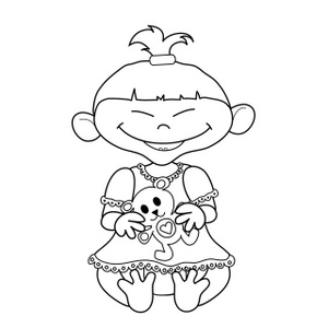 Multicultural pages . Brother clipart coloring