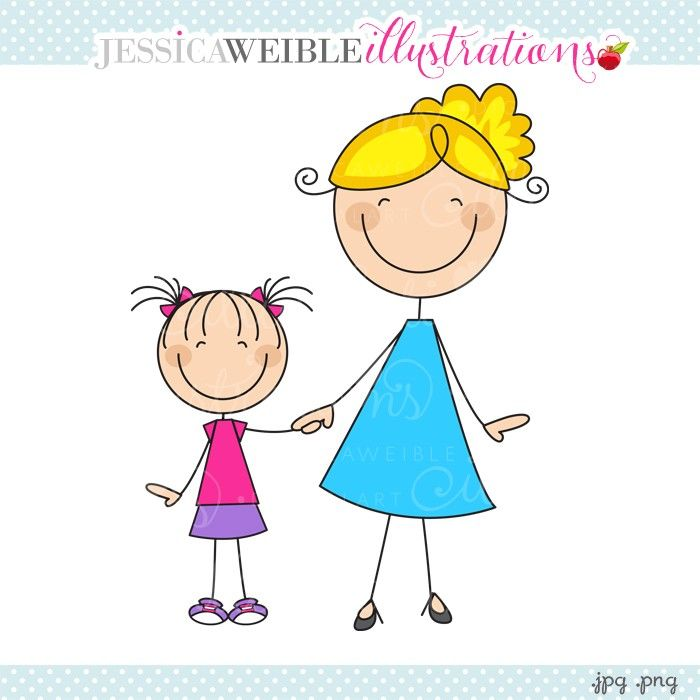 Brothers clipart daughter.  collection of mom