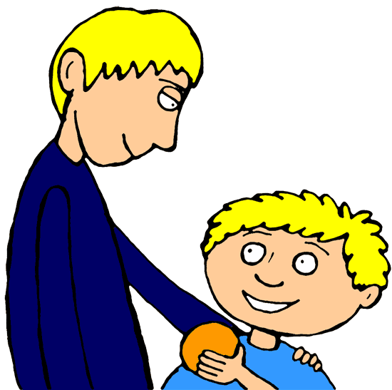 A perfect world clip. Brothers clipart family