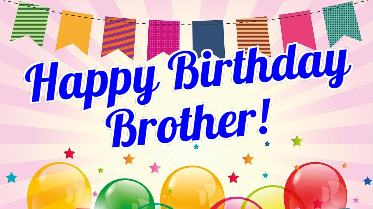 Brothers clipart happy birthday. Brother youtube
