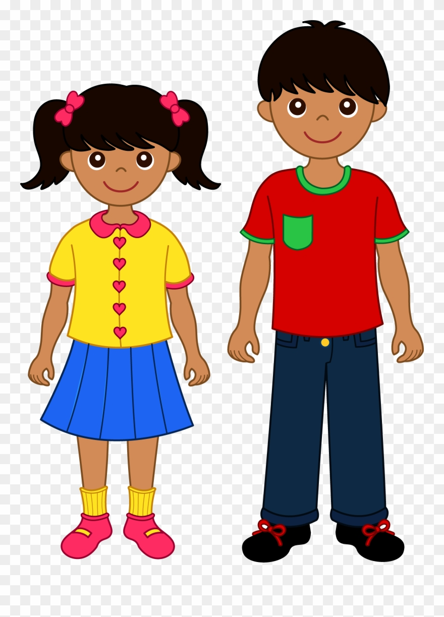 Brothers clipart kid. Of child brother and