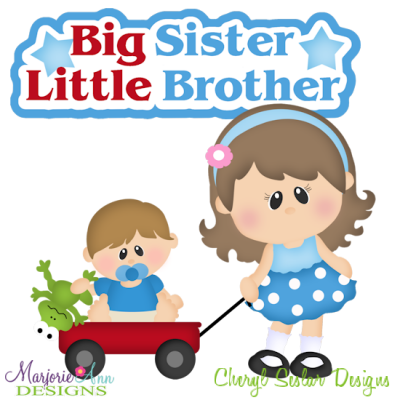 Big sister panda free. Brothers clipart little brother