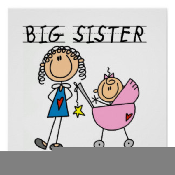 Brother clipart little brother. Big sister free images