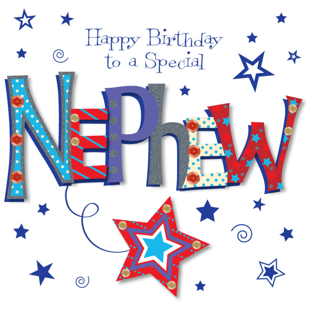 Brother clipart nephew. Special happy birthday greeting